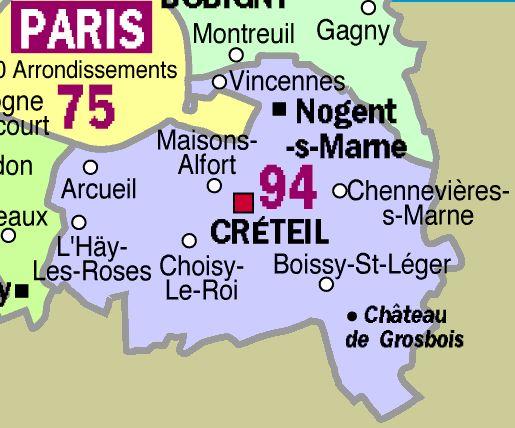 creteil region ile de france